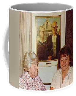 American Gothic's Nan With Dottie  Coffee Mug