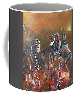 American Indians Family Coffee Mug