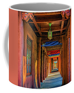Coffee Mug featuring the photograph American Institute Of Indian Arts by Ken Stanback