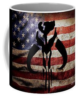American Mandalorian Coffee Mug by Justin Moore