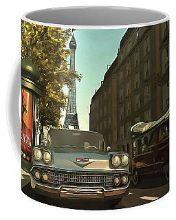 American  Oldtimers In Paris Coffee Mug