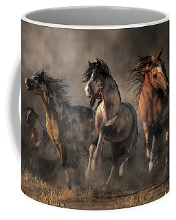 American Paint Horses Coffee Mug