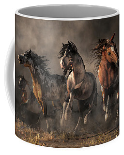 American Paint Horses Coffee Mug