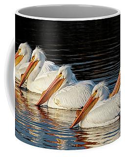 American Pelicans - 01 Coffee Mug