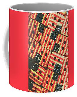 American Quilting Background Coffee Mug
