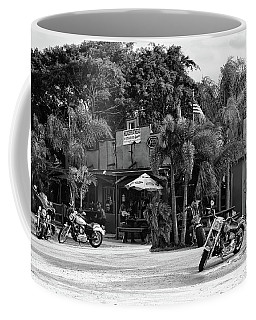 Coffee Mug featuring the photograph American Roadhouse Bw by Laura Fasulo
