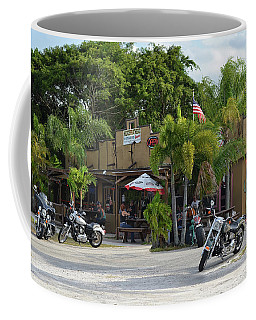 Coffee Mug featuring the photograph American Roadhouse by Laura Fasulo