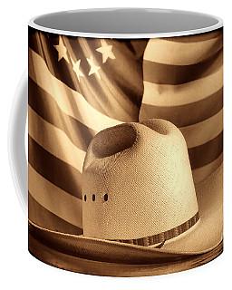 American Rodeo Cowboy Hat Coffee Mug
