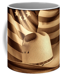 American Rodeo Cowboy Hat Coffee Mug