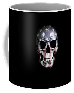 American Skull Coffee Mug by Nicklas Gustafsson