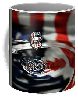 American Water Drop Coffee Mug