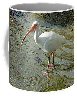 American White Ibis Coffee Mug