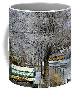 Americana And Hoarfrost Coffee Mug