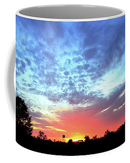 City On A Hill - Americus, Ga Sunset Coffee Mug