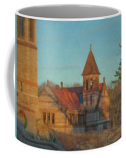 Ames Free Library At Solstice Coffee Mug