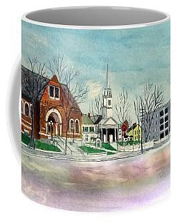 Amesbury Public Library Circa 1920 Coffee Mug