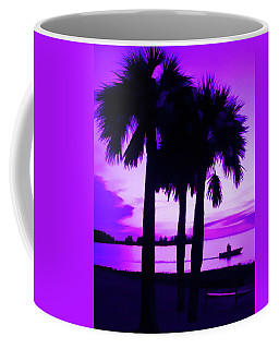 Coffee Mug featuring the photograph Amethyst Beach Sunset by Aimee L Maher Photography and Art Visit ALMGallerydotcom