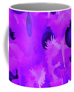 Coffee Mug featuring the photograph Amethyst Christmas Tree Ornaments by Aimee L Maher Photography and Art Visit ALMGallerydotcom