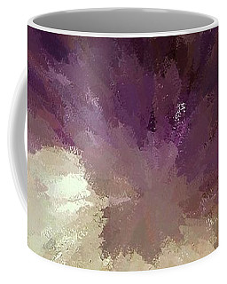Amethyst Spiral Coffee Mug by Ellen O'Reilly
