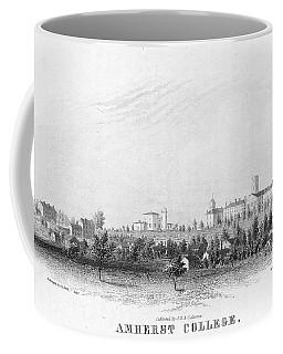 Amherst College, 1863 Coffee Mug