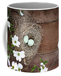 Amid The Dogwood Blossoms Coffee Mug by Stephanie Frey