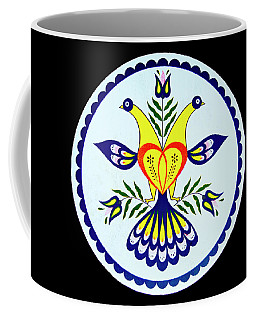 Coffee Mug featuring the photograph Amish Barn Hex Design by Paul W Faust - Impressions of Light