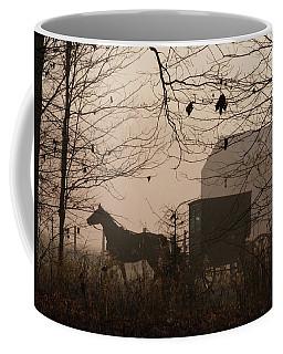 Amish Buggy Fall Coffee Mug