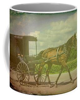 Amish Conveyance Color Coffee Mug