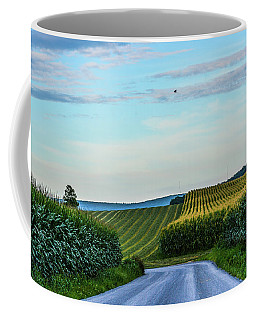 Amish Farm At Golden Hour Coffee Mug