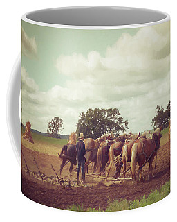 Amish Farming Coffee Mug