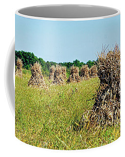 Coffee Mug featuring the photograph Amish Harvest by Cricket Hackmann