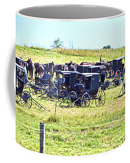Amish Hillside Coffee Mug
