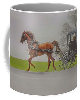 Amish Sunday Ride Coffee Mug