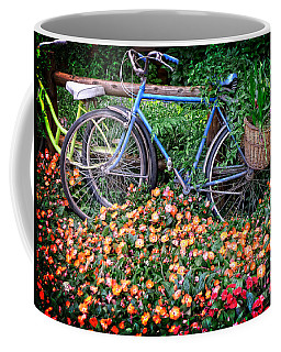 Among The Flowers Coffee Mug