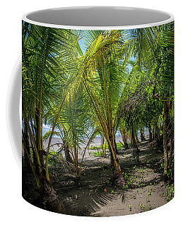 Among The Palms Coffee Mug