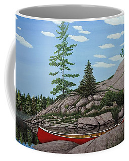 Among The Rocks II Coffee Mug