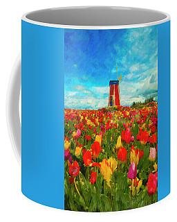 Amongst The Tulips Coffee Mug