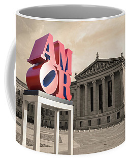 Coffee Mug featuring the photograph Amor - Love by Bill Cannon