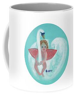 Amorino With Swan Coffee Mug
