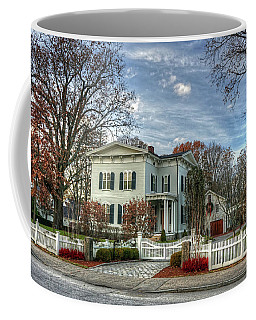 Amos Tuck House In Late Autumn Coffee Mug