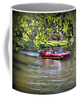 Amphicar Swimming Coffee Mug