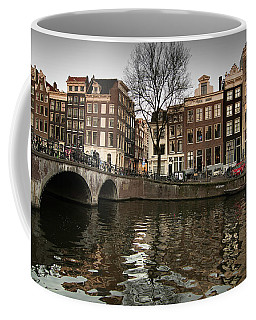 Amsterdam Canal Bridge Coffee Mug