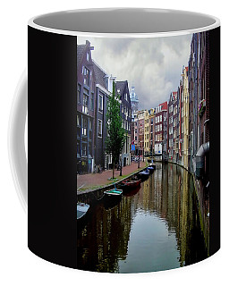 Amsterdam Coffee Mug by Heather Applegate