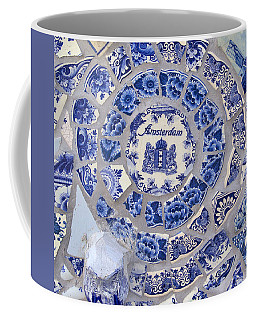 Amsterdam In Blue Coffee Mug
