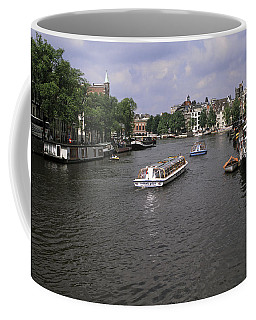 Amsterdam Water Scene Coffee Mug