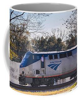 Amtrak Coffee Mug by Linda Brown