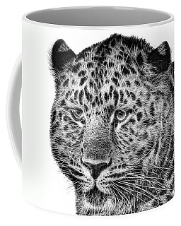 Amur Leopard Coffee Mug by John Edwards