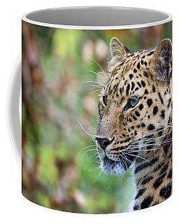 Amur Leopard Portrait Coffee Mug