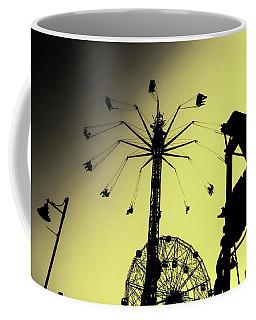 Amusements In Silhouette Coffee Mug
