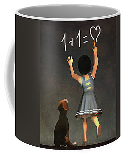 Amy Educating Buddy Math Coffee Mug